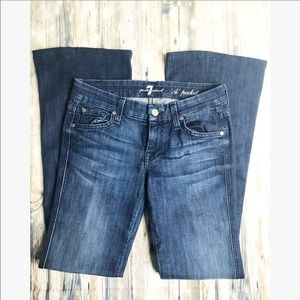 """7For all Mankind • """"A"""" pocket bootcut Jeans"""